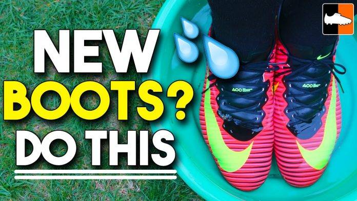 Things you should do when you bought new cleats!