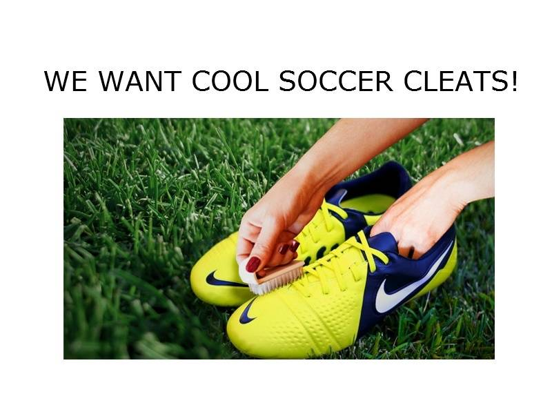 cool soccer cleats
