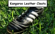 kangaroo leather soccer cleats