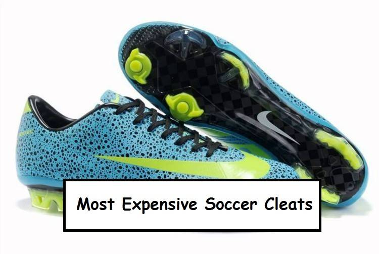 Which are Most Expensive Soccer Cleats  eca9def1aa84