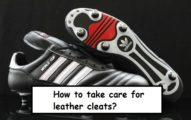 take care for you leather cleats