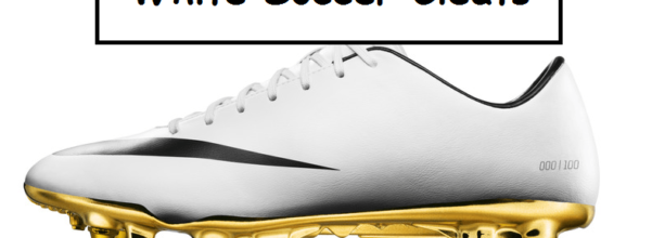 white soccer cleats