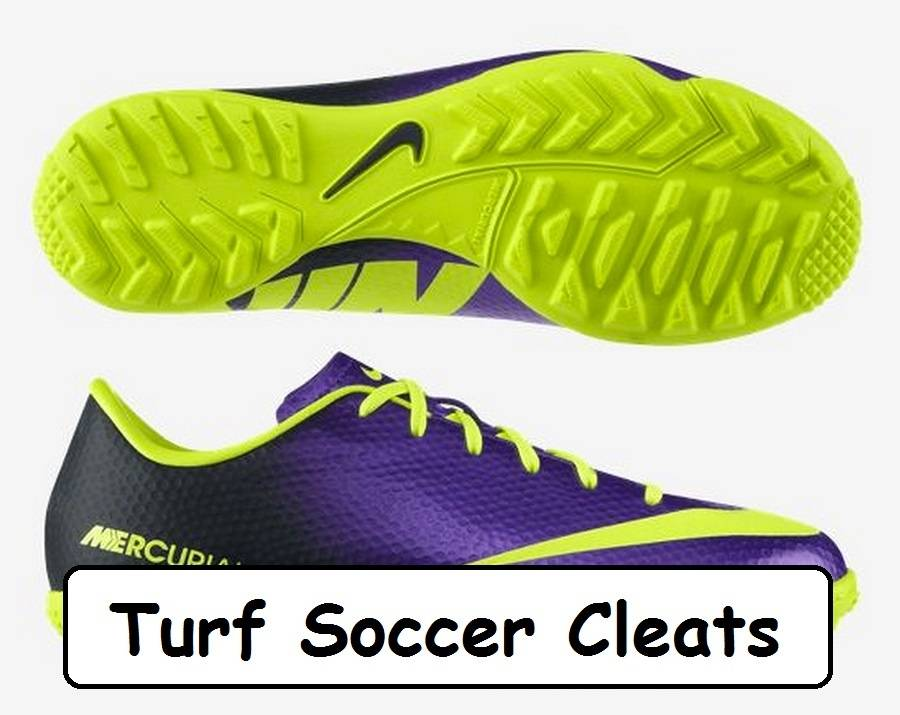 turf soccer cleats