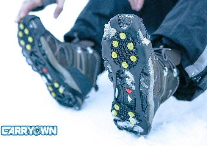 Carryown Ice Cleats Grips Non-Slip Over Shoe Review