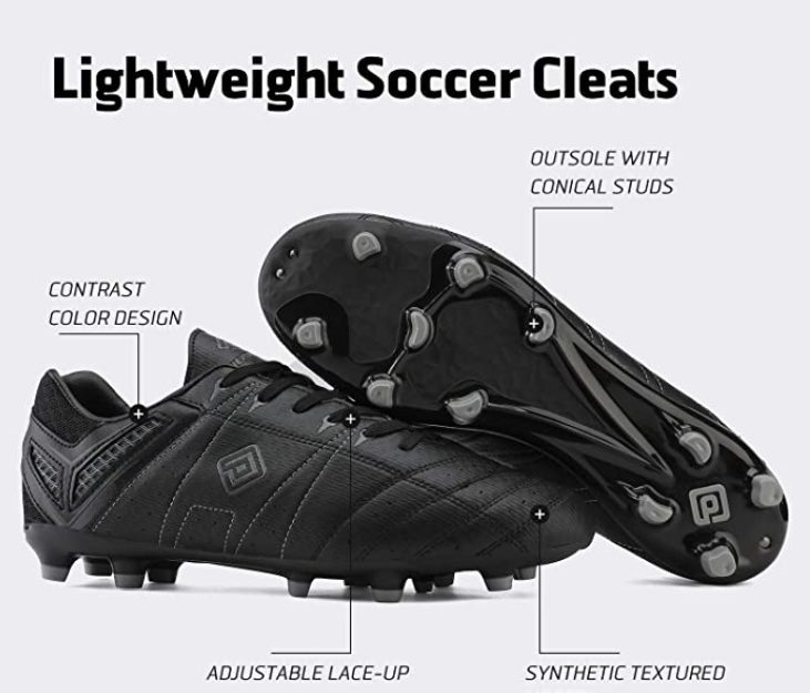 DREAM PAIRS Men's Cleats Football Soccer Shoes Review
