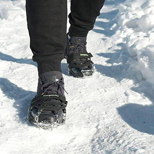 Walk Traction Ice Cleat Spikes Crampons