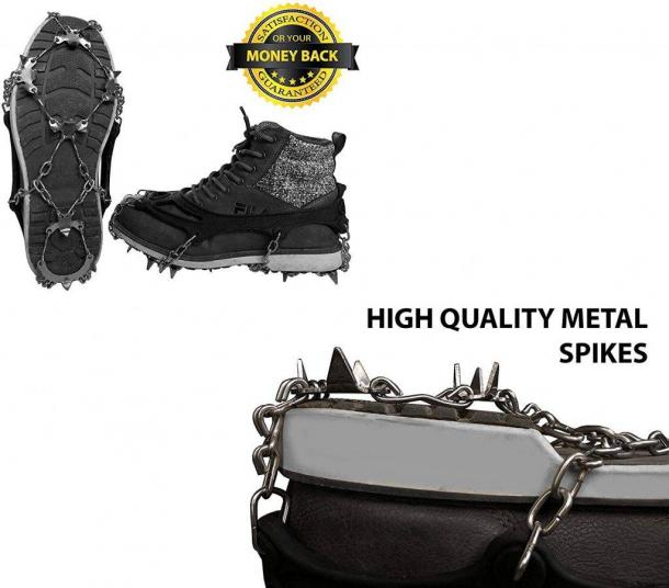 Limm Crampons Ice Traction Cleats - Strong and sturdy