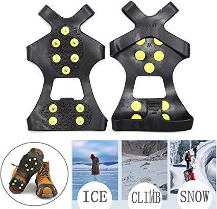 Quik Solve Ice Snow Traction Cleats - durable and strong materials