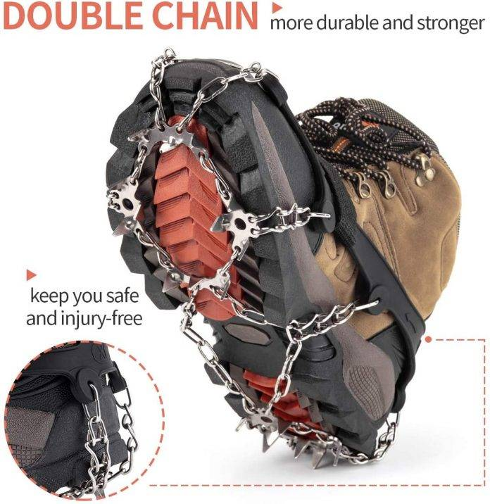 SHARK MOUTH Ice Cleats Crampons Traction