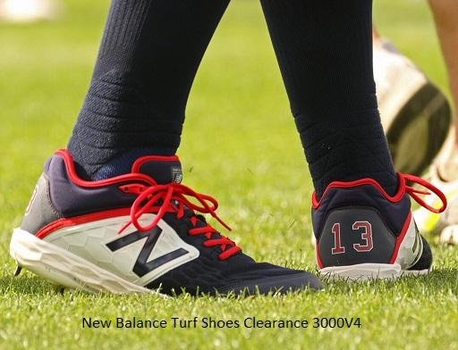 New Balance Turf Shoes Clearance 3000V4