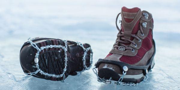ICE Trekkers Diamond Grip Traction Ice Cleats